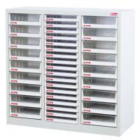 樹德 Shuter A4XM3-18X18 A4 加鎖座地資料櫃(三排/36抽)