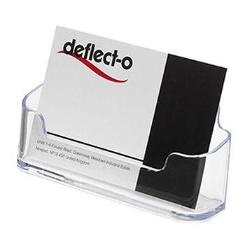 Deflecto 70101 透明名片座 (單格)