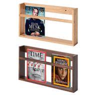 掛牆式實木雜誌圖書架 (W60 x D7 x H30cm)