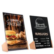 A4 小黑板磁力餐牌座