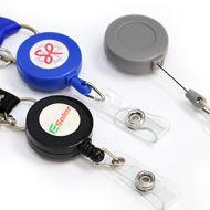 訂製: 拉繩證件扣 (附彩色印刷LOGO滴膠貼-200個起)