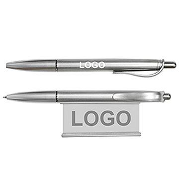 拉紙廣告原子筆-銀色筆桿 (連印刷 LOGO-1,000支起)